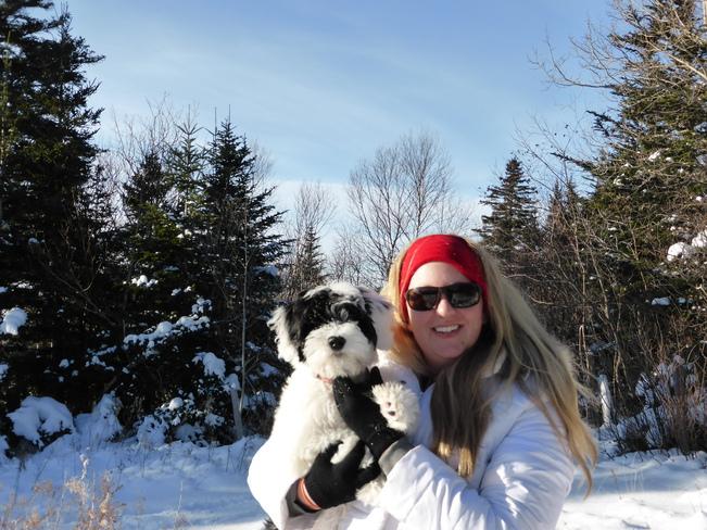 Melanie and Tala Birchy Bay, Newfoundland and Labrador Canada