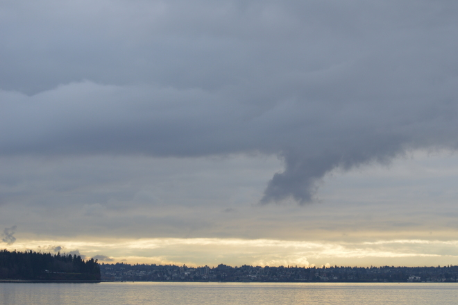 Funnel Cloud West Vancouver, British Columbia Canada