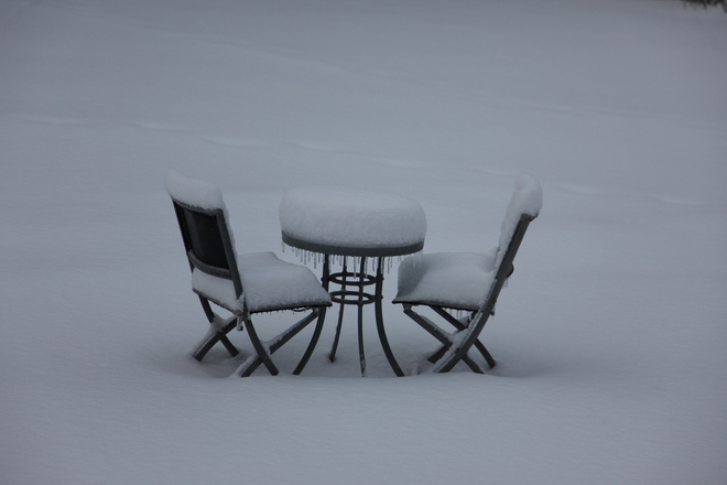 Table for two Waterloo, Ontario Canada