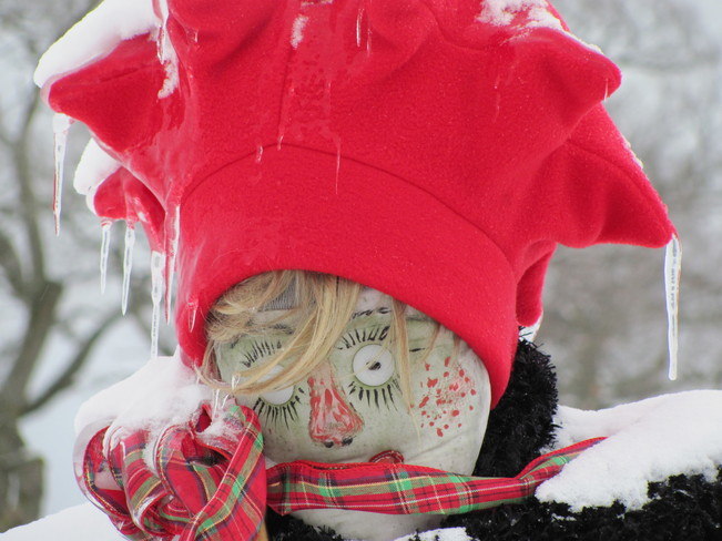 Baby, It's COLD out There Amherst, Nova Scotia Canada