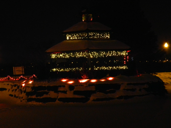 A Gazebo of Lights Barrie, Ontario Canada