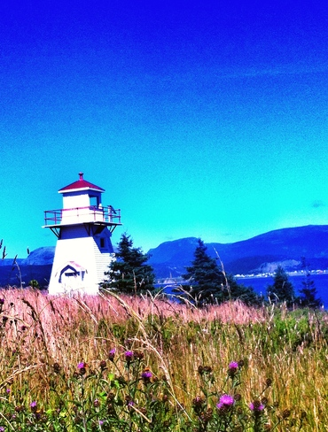 Lighthouse in Gros Morne NF Woody Point, Newfoundland and Labrador Canada