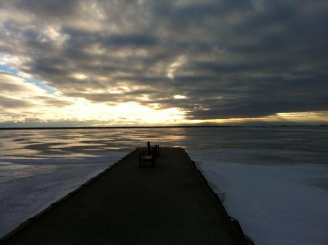 Shrewsbury Pier Blenheim, Ontario Canada
