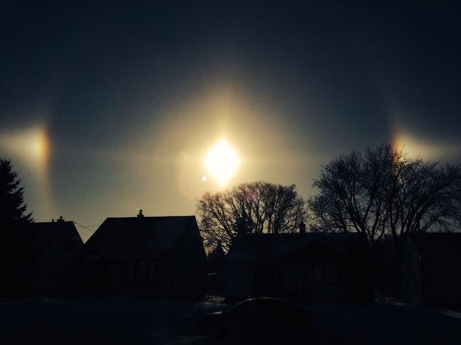 Sun Dogs Winnipeg, Manitoba Canada