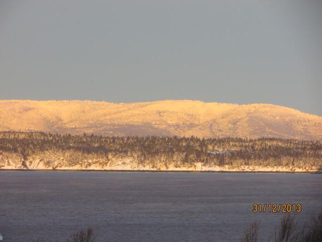 FUNDY BAY Joggins, Nova Scotia Canada