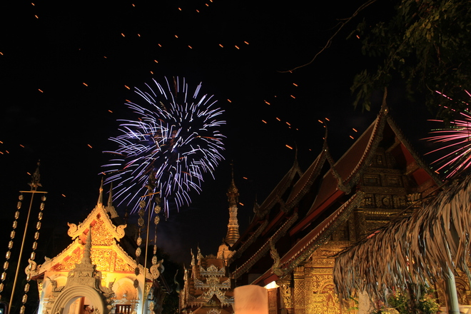 New Years in Chiang Mai Thailand