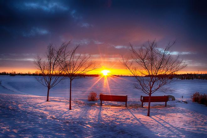 Happy New Year To Everyone...From Calgary. Calgary, Alberta Canada
