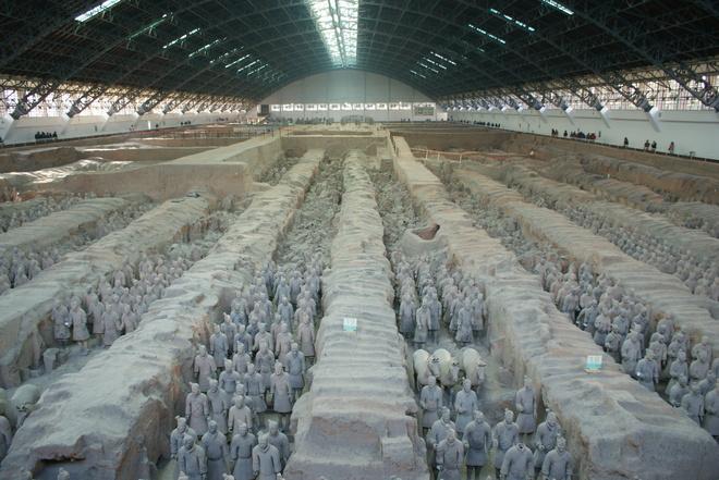 Terra-Cota Warriors Xi'an, Shaanxi China