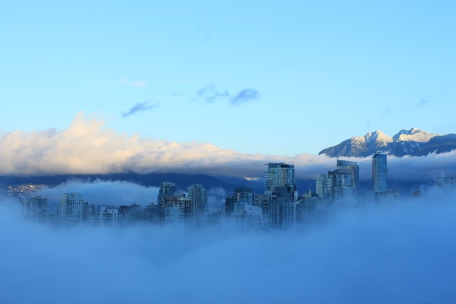 Vancouver in the Cloud Vancouver, British Columbia Canada