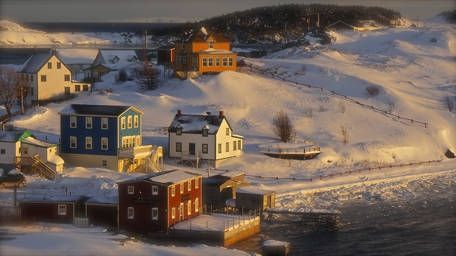 Winter in Trinity Trinity, Newfoundland and Labrador Canada