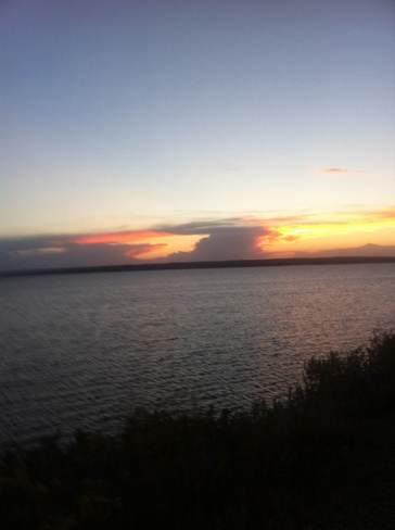 prairie sunset Lucky Lake, Saskatchewan Canada