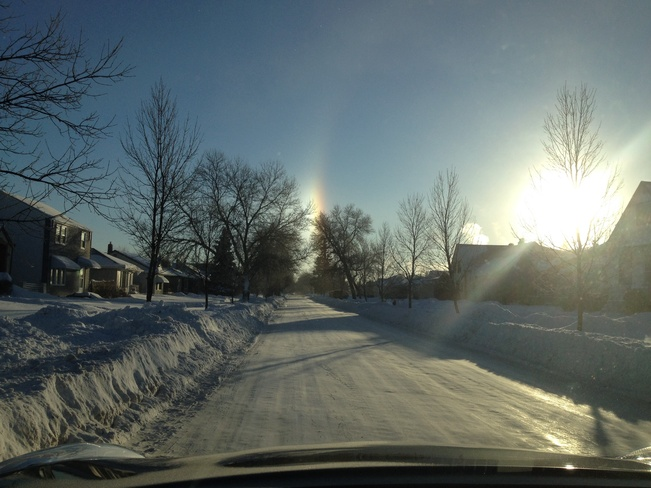 Sun Dog Winnipeg, Manitoba Canada