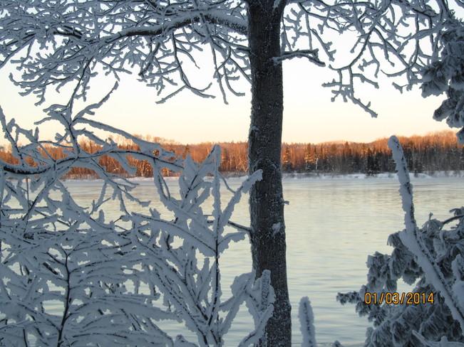 -35 degrés, givre Mont-Laurier, Quebec Canada