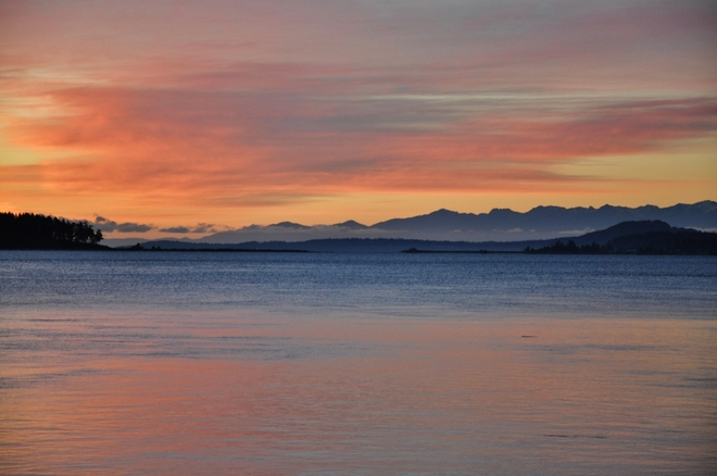 MORNING PASTELS Sidney, British Columbia Canada