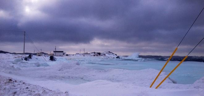 Frozen Twillingate, Newfoundland and Labrador Canada