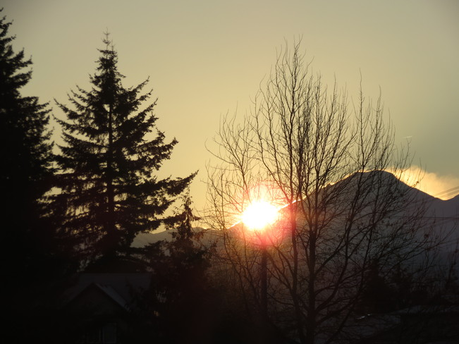 Glorious Sunrise in Abbotsford Abbotsford, British Columbia Canada