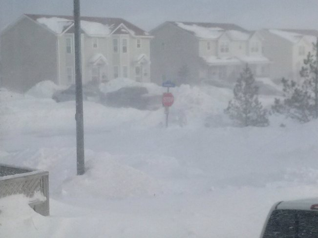What to do with all the snow? Mount Pearl, Newfoundland and Labrador Canada