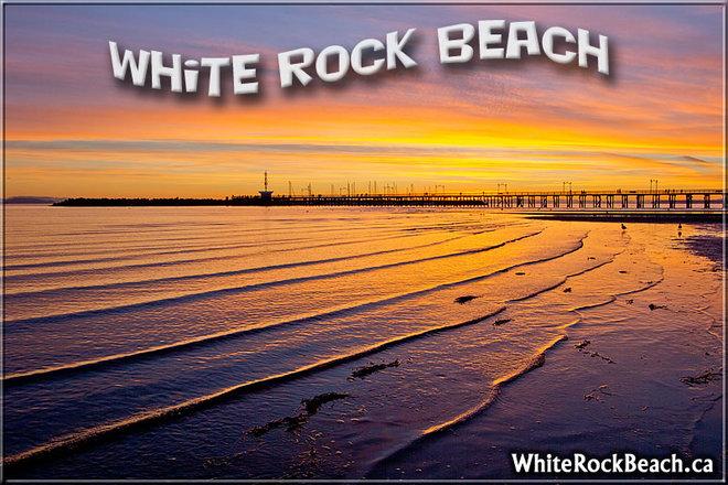 Super COOL White Rock Beach White Rock, British Columbia Canada