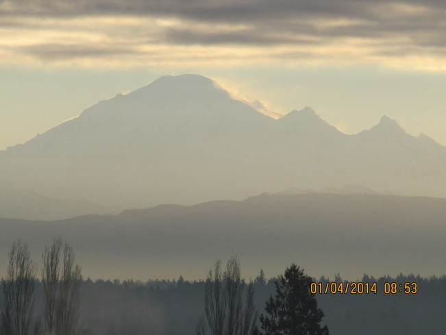 Steam Venting on Mt Baker Cloverdale, British Columbia Canada