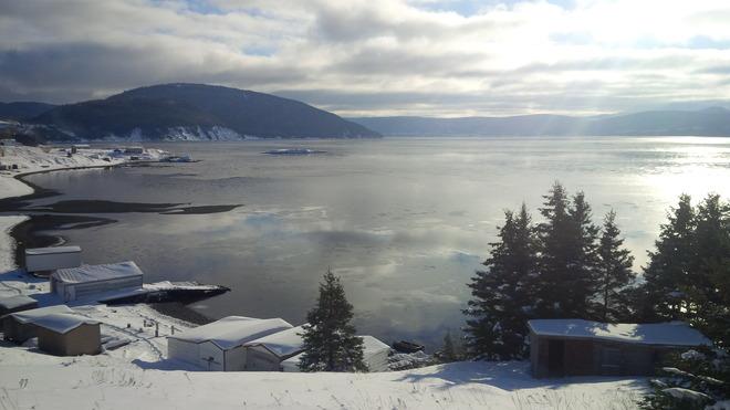Rare nice day McIver's, Newfoundland and Labrador Canada
