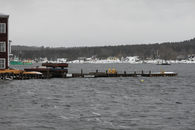 Towing the LaHave Cable Ferry LaHave, Nova Scotia Canada