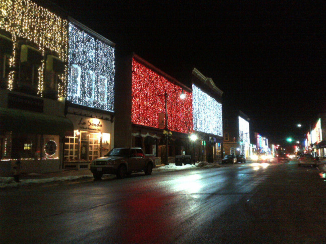 Napanee at night - no, not Vegas Napanee, Ontario Canada