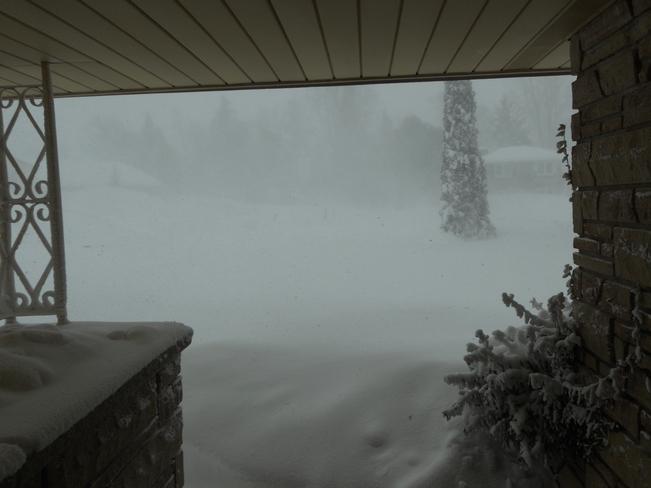 Blizzard warnings Hepworth, Ontario Canada