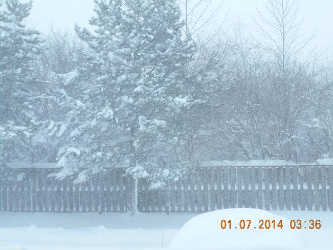 The storm refuses to stop Owen Sound, Ontario Canada