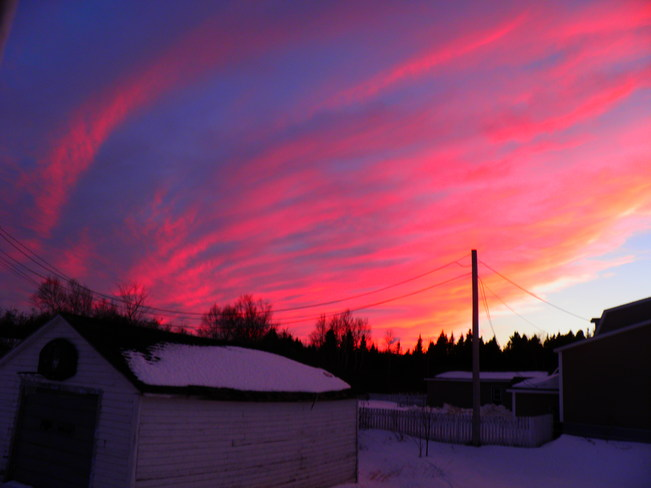 Sunset in Stanhope Lewisporte, Newfoundland and Labrador Canada