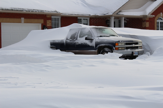 Drifted In! Rosemont, Ontario Canada