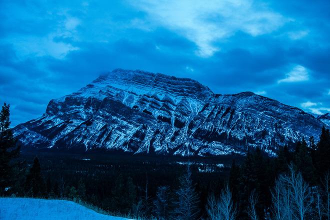 Stunning Rockey Mountain Edmonton, Alberta Canada
