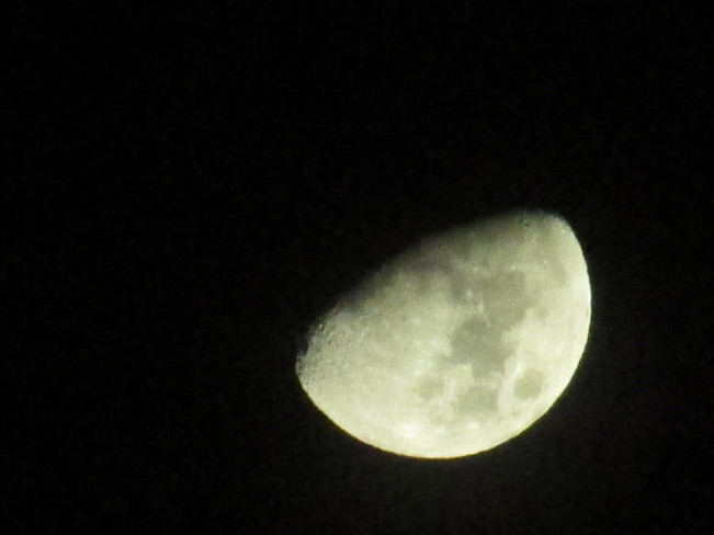 The moon 2am this morning