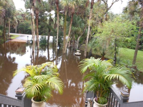 White City flooding