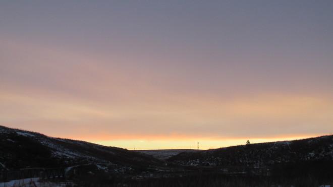 Dawn Sky Calgary, Alberta Canada