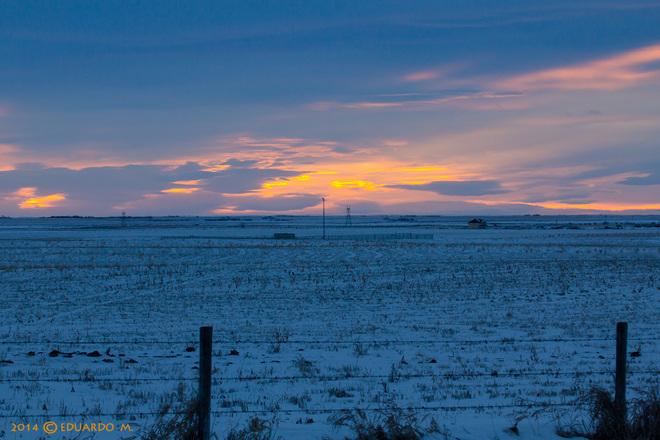 Prairie Sunrise High River, Alberta Canada
