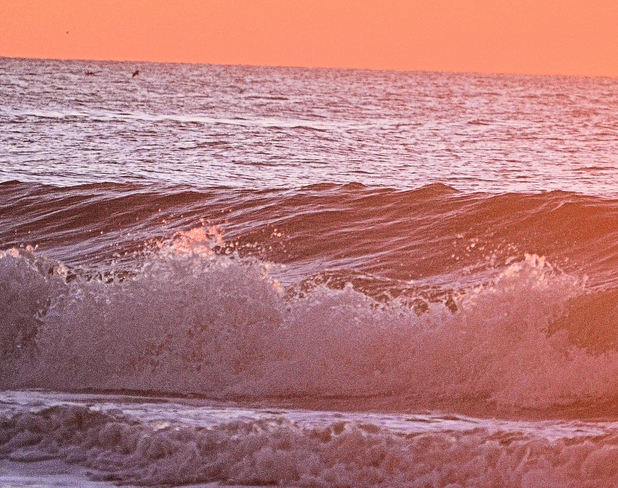 breakers at sunrise North Myrtle Beach, South Carolina United States