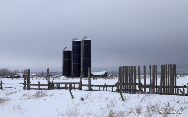 The Old and The New Beausejour, Manitoba Canada