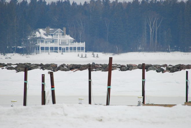 Winter by the Sea ... Moncton, New Brunswick Canada