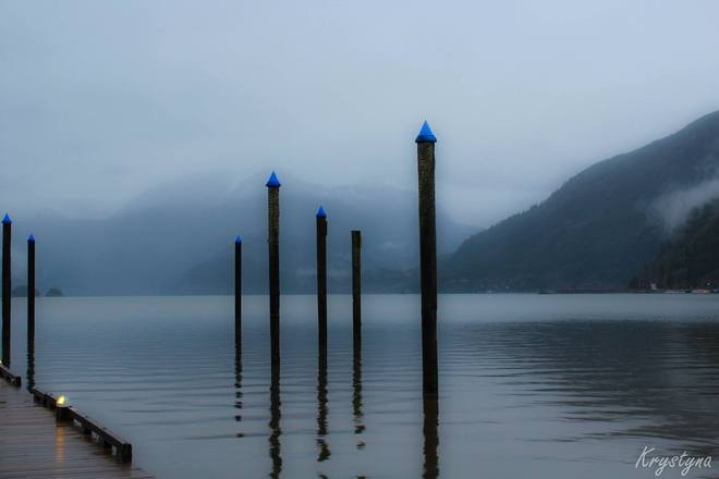 Rainy Day Harrison Harrison Hot Springs, British Columbia Canada