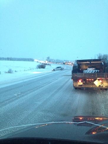 road conditions Bonnyville, Alberta Canada