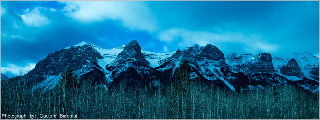 Beauty of Canmore Edmonton, Alberta Canada