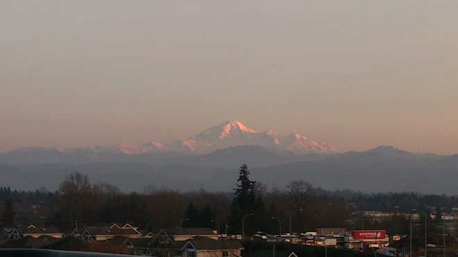 Majestic Mount Baker Abbotsford, British Columbia Canada
