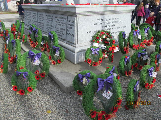 Rememberance Day Cloverdale, British Columbia Canada
