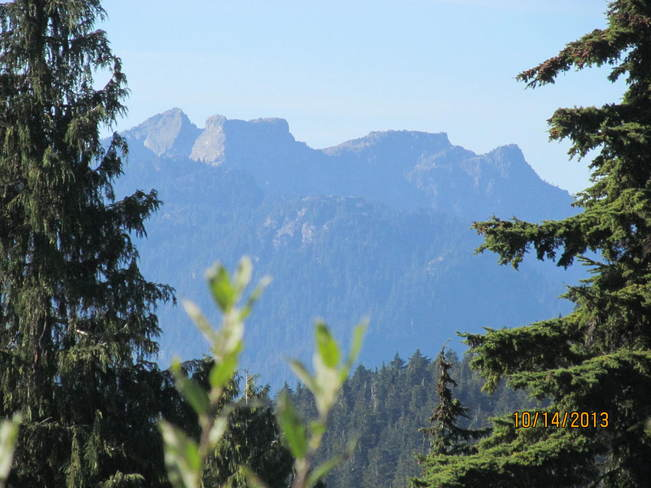 View from Mount Seymour North Vancouver, British Columbia Canada