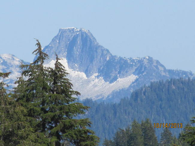 Clear day on the mountins North Vancouver, British Columbia Canada