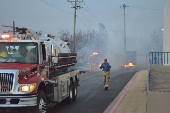 Edmond Grass Fires