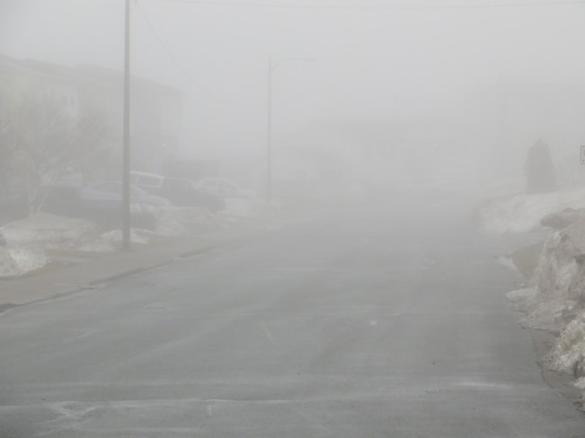 Oh the fog Mount Pearl, Newfoundland and Labrador Canada