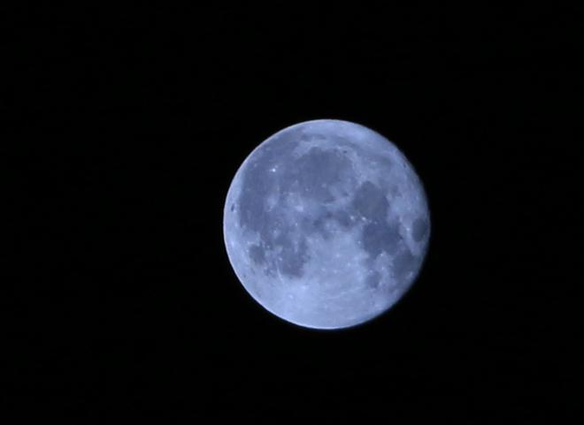 January full moon,