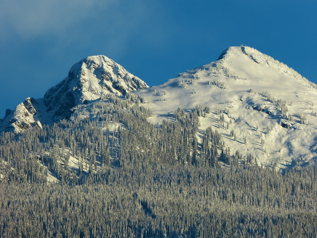 snow capped beauty Revelstoke, British Columbia Canada