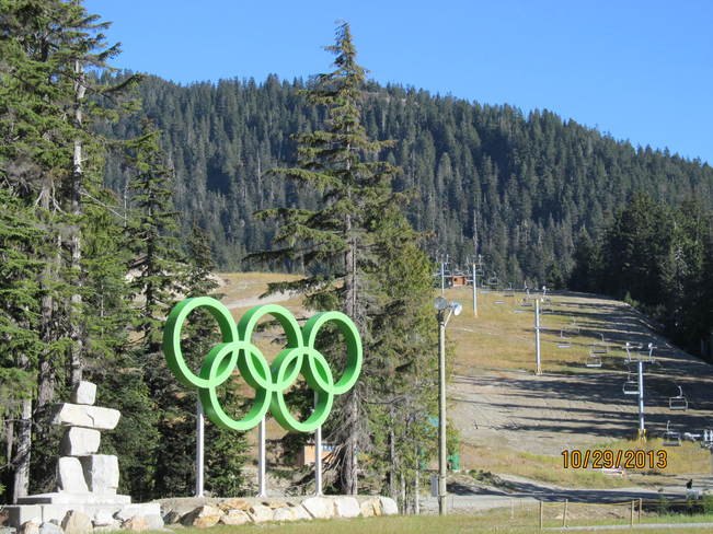 Winter Olympics at Cypress Mountain West Vancouver, British Columbia Canada